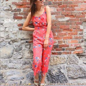 Floral Jumpsuit - Annie 50